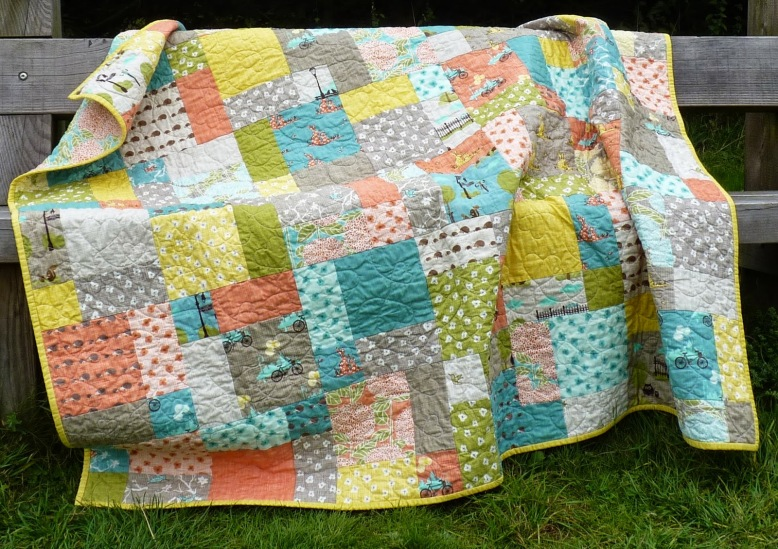 Bluebird Park quilt