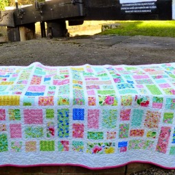 Ruby, Pearl, Opal quilt
