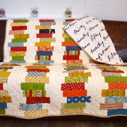 Off-set coin quilt