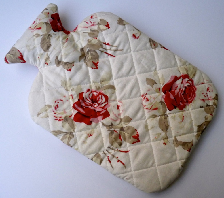 Bespoke hot water bottle cover