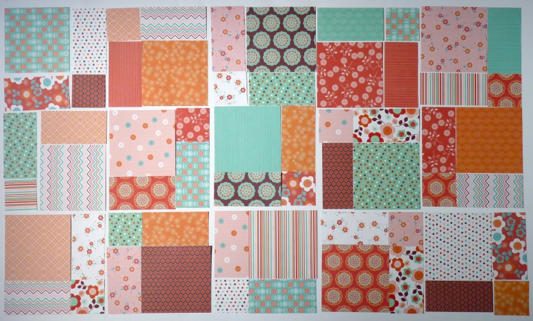 Bluebird Park quilt block layout