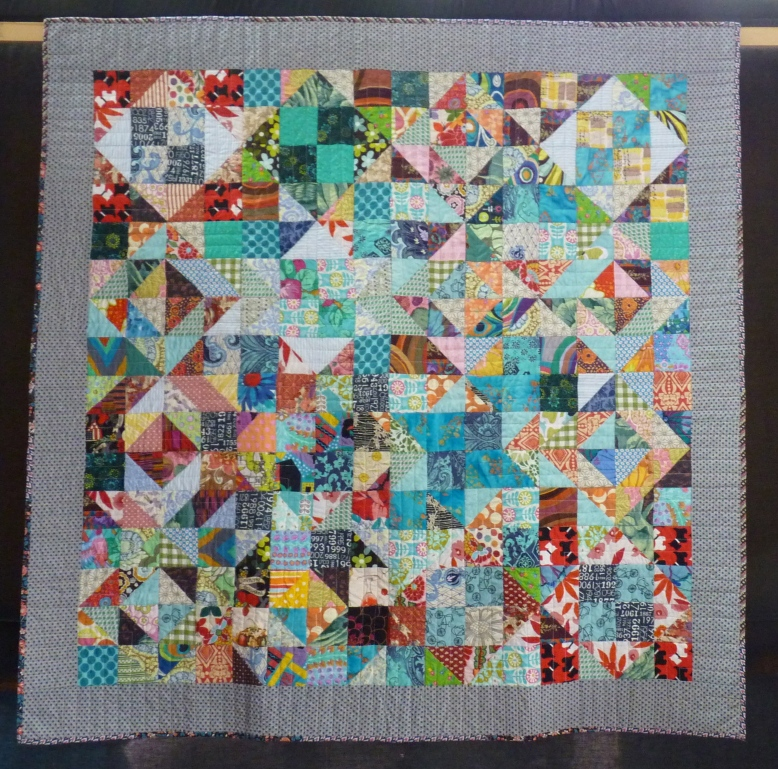 Quilt 721 - Bank Holiday by Ruth Burdett