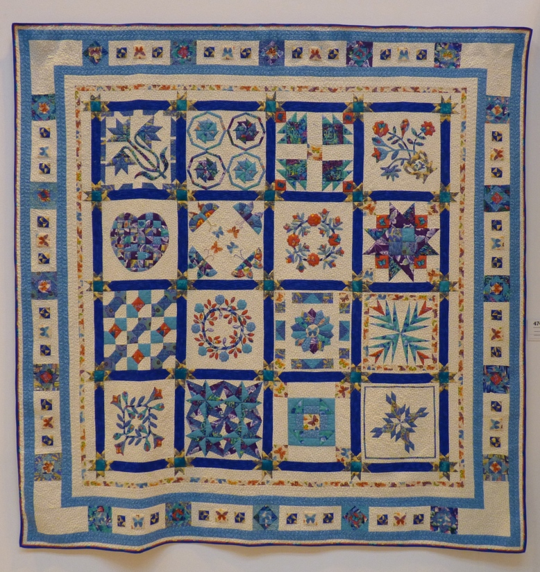 Quilt 474 - Learning Curve by Janet Ann Bowden