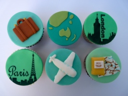 Travel cupcakes