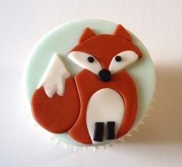 Woodland animals - fox