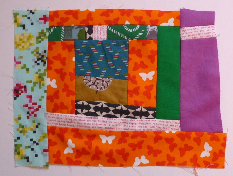 Improv patchwork block