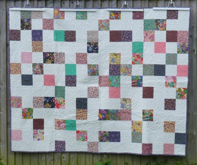 Regent Street lawn charm pack quilt