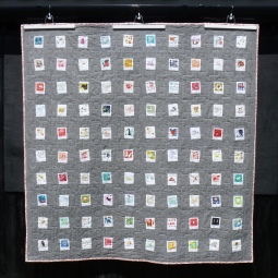 Memories of childhood Polaroid quilt