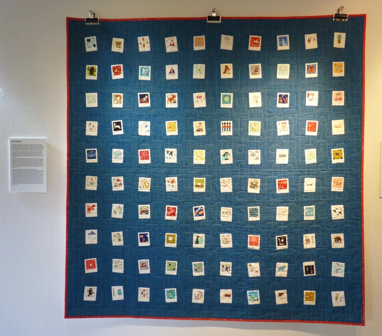 A Life in Film quilt - Rheged Gallery - New Quilting exhibition