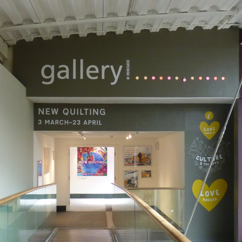 New Quilting exhibition - Rheged Gallery, Penrith, Cumbria